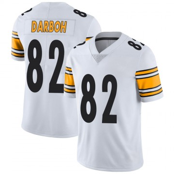 Men's Nike Pittsburgh Steelers Amara Darboh White Vapor Untouchable Jersey - Limited