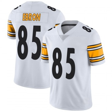 Men's Nike Pittsburgh Steelers Eric Ebron White Vapor Untouchable Jersey - Limited