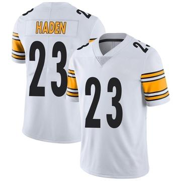 Men's Nike Pittsburgh Steelers Joe Haden White Vapor Untouchable Jersey - Limited