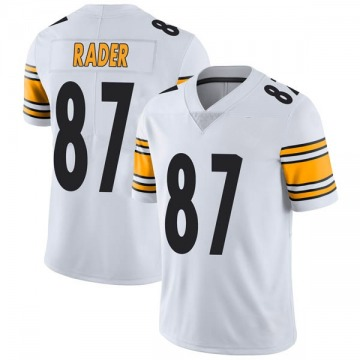 Men's Nike Pittsburgh Steelers Kevin Rader White Vapor Untouchable Jersey - Limited