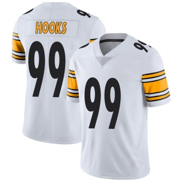 Men's Nike Pittsburgh Steelers Lavon Hooks White Vapor Untouchable Jersey - Limited