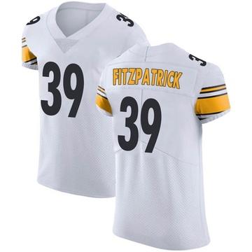 Men's Nike Pittsburgh Steelers Minkah Fitzpatrick White Vapor Untouchable Jersey - Elite