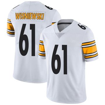Men's Nike Pittsburgh Steelers Stefen Wisniewski White Vapor Untouchable Jersey - Limited