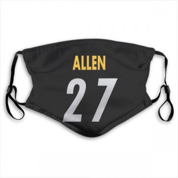 Pittsburgh Steelers Marcus Allen Black Jersey Name & Number Face Mask