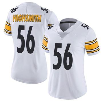 Women's Nike Pittsburgh Steelers Alex Highsmith White Vapor Untouchable Jersey - Limited