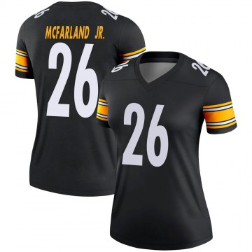 Women's Nike Pittsburgh Steelers Anthony McFarland Jr. Black Jersey - Legend