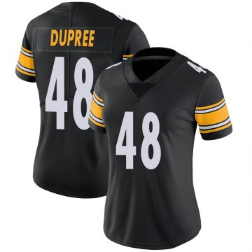 Women's Nike Pittsburgh Steelers Bud Dupree Black Team Color Vapor Untouchable Jersey - Limited