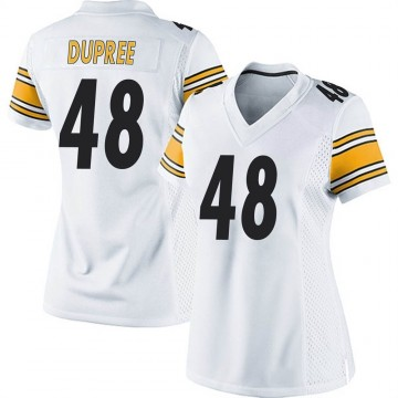 Women's Nike Pittsburgh Steelers Bud Dupree White Jersey - Game
