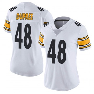 Women's Nike Pittsburgh Steelers Bud Dupree White Vapor Untouchable Jersey - Limited