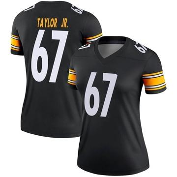 Women's Nike Pittsburgh Steelers Calvin Taylor Jr. Black Jersey - Legend