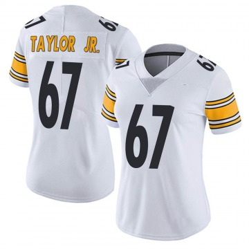 Women's Nike Pittsburgh Steelers Calvin Taylor Jr. White Vapor Untouchable Jersey - Limited