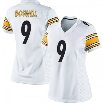 Women's Nike Pittsburgh Steelers Chris Boswell White Jersey - Game