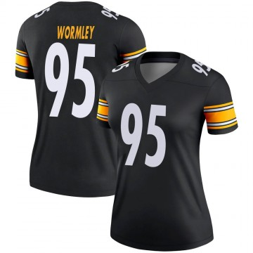 Women's Nike Pittsburgh Steelers Chris Wormley Black Jersey - Legend