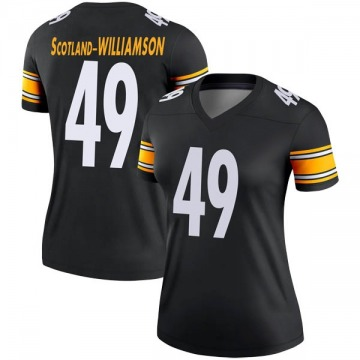 Women's Nike Pittsburgh Steelers Christian Scotland-Williamson Black Jersey - Legend