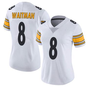 Women's Nike Pittsburgh Steelers Corliss Waitman White Vapor Untouchable Jersey - Limited