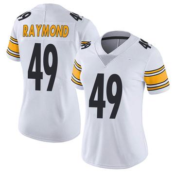 Women's Nike Pittsburgh Steelers Dax Raymond White Vapor Untouchable Jersey - Limited