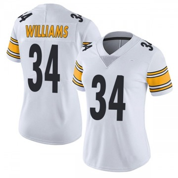 Women's Nike Pittsburgh Steelers DeAngelo Williams White Vapor Untouchable Jersey - Limited