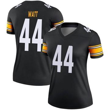 Women's Nike Pittsburgh Steelers Derek Watt Black Jersey - Legend