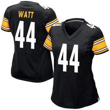 Women's Nike Pittsburgh Steelers Derek Watt Black Team Color Jersey - Game
