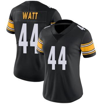 Women's Nike Pittsburgh Steelers Derek Watt Black Team Color Vapor Untouchable Jersey - Limited