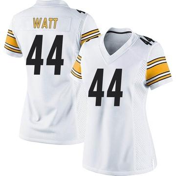 Women's Nike Pittsburgh Steelers Derek Watt White Jersey - Game
