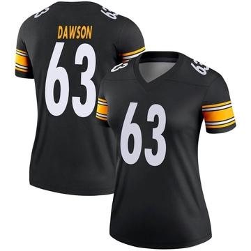 Women's Nike Pittsburgh Steelers Dermontti Dawson Black Jersey - Legend