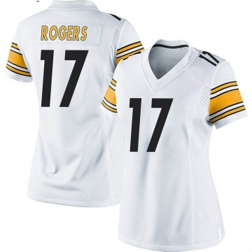 Women's Nike Pittsburgh Steelers Eli Rogers White Jersey - Game
