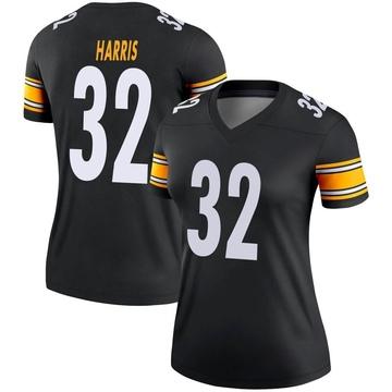 Women's Nike Pittsburgh Steelers Franco Harris Black Jersey - Legend