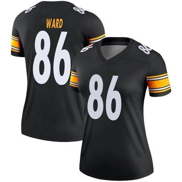 Women's Nike Pittsburgh Steelers Hines Ward Black Jersey - Legend