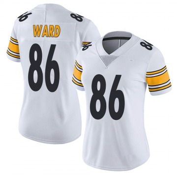 Women's Nike Pittsburgh Steelers Hines Ward White Vapor Untouchable Jersey - Limited