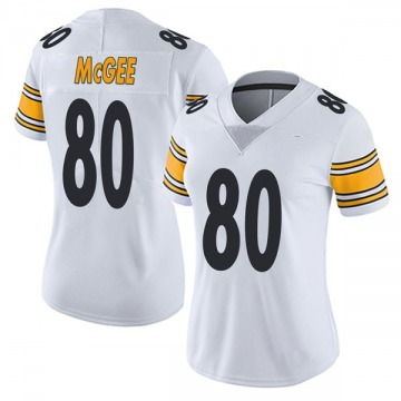 Women's Nike Pittsburgh Steelers Jake McGee White Vapor Untouchable Jersey - Limited