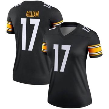 Women's Nike Pittsburgh Steelers Joe Gilliam Black Jersey - Legend