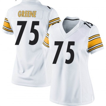 Women's Nike Pittsburgh Steelers Joe Greene White Jersey - Game