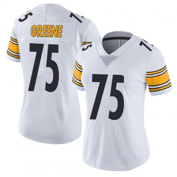 Women's Nike Pittsburgh Steelers Joe Greene White Vapor Untouchable Jersey - Limited