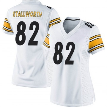 Women's Nike Pittsburgh Steelers John Stallworth White Jersey - Game