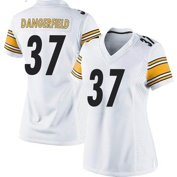 Women's Nike Pittsburgh Steelers Jordan Dangerfield White Jersey - Game