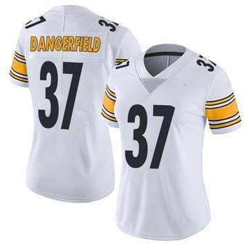 Women's Nike Pittsburgh Steelers Jordan Dangerfield White Vapor Untouchable Jersey - Limited