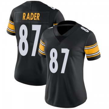 Women's Nike Pittsburgh Steelers Kevin Rader Black Team Color Vapor Untouchable Jersey - Limited