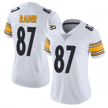 Women's Nike Pittsburgh Steelers Kevin Rader White Vapor Untouchable Jersey - Limited