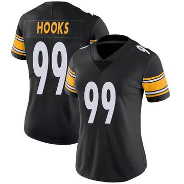 Women's Nike Pittsburgh Steelers Lavon Hooks Black 100th Vapor Jersey - Limited