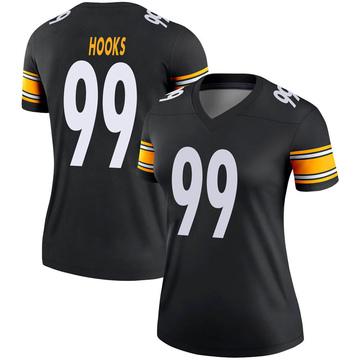 Women's Nike Pittsburgh Steelers Lavon Hooks Black Jersey - Legend