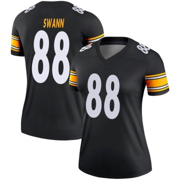 Women's Nike Pittsburgh Steelers Lynn Swann Black Jersey - Legend