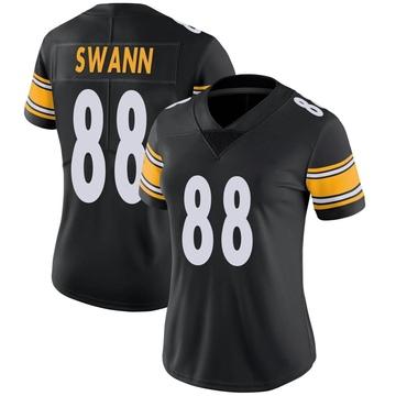Women's Nike Pittsburgh Steelers Lynn Swann Black Team Color Vapor Untouchable Jersey - Limited
