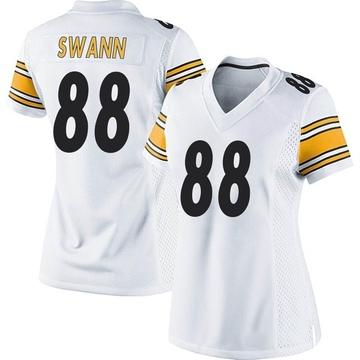 Women's Nike Pittsburgh Steelers Lynn Swann White Jersey - Game