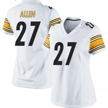 Women's Nike Pittsburgh Steelers Marcus Allen White Jersey - Game