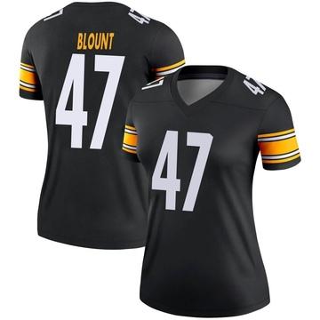 Women's Nike Pittsburgh Steelers Mel Blount Black Jersey - Legend