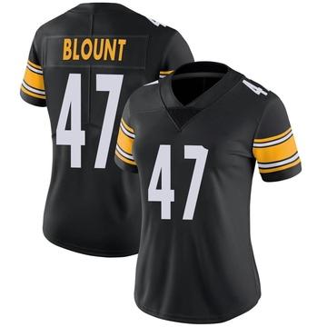 Women's Nike Pittsburgh Steelers Mel Blount Black Team Color Vapor Untouchable Jersey - Limited
