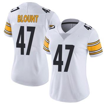 Women's Nike Pittsburgh Steelers Mel Blount White Vapor Untouchable Jersey - Limited