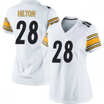 Women's Nike Pittsburgh Steelers Mike Hilton White Jersey - Game