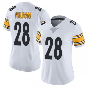 Women's Nike Pittsburgh Steelers Mike Hilton White Vapor Untouchable Jersey - Limited